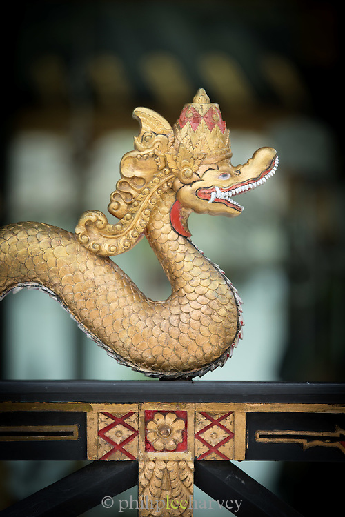 Ornamental dragon Kraton of Yogyakarta, Yogyakarta, Yogyakarta Special Region, Java, Indonesia, Southeast Asia