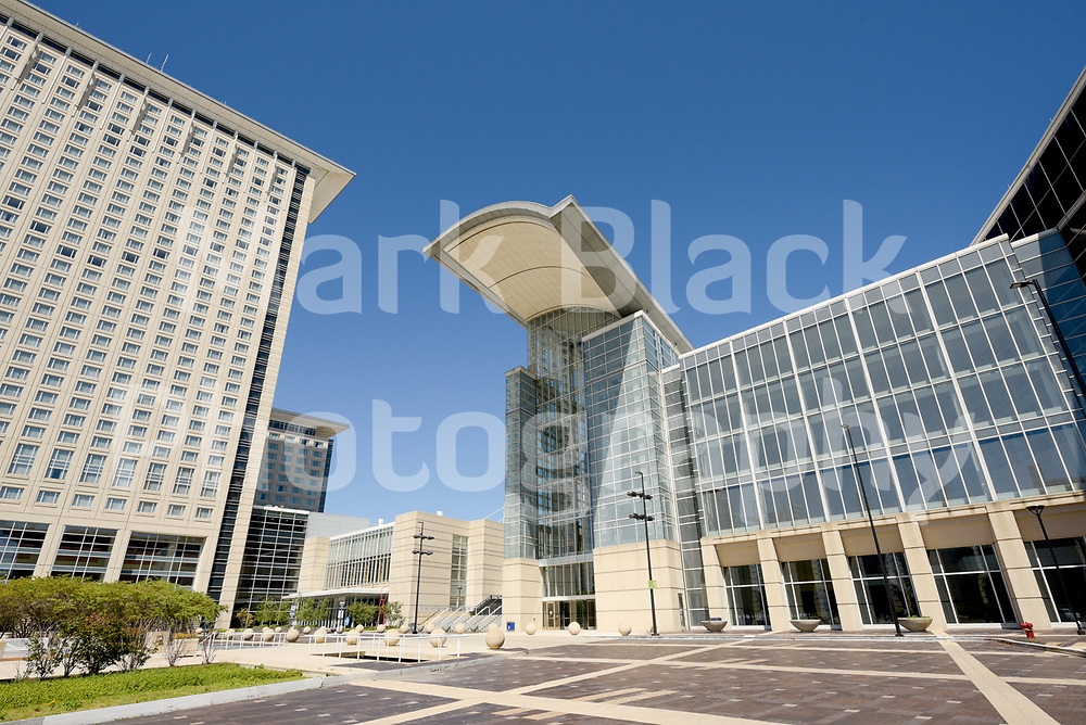 McCormick Place convention center in Chicago on Wednesday, Aug. 19, 2020.  Photo by Mark Black
