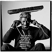 Lee Scratch Perry  In a secret laboratory, called Matrix Studios, London 1989