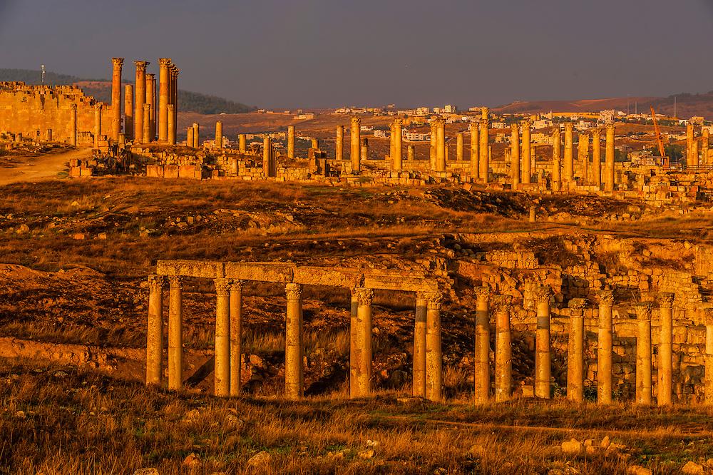 Greco-Roman ruins, Jerash, Jordan.