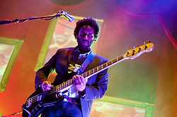 bass Guitar, Pete Turner Elbow at Sheffield Motorpoint Arena  .19 March 2011.Images © Paul David Drabble