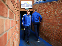 Cameron Hargreaves of Bristol Rovers arrives at The ABAX Stadium, for the Sky Bet League One fixture against Peterborough United - Mandatory by-line: Robbie Stephenson/JMP - 24/03/2018 - FOOTBALL - ABAX Stadium - Peterborough, England - Peterborough United v Bristol Rovers - Sky Bet League One