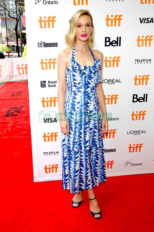 September 10, 2018 - Toronto, Ontario, Kanada - Carey Mulligan bei der Premiere von 'Wildlife' auf dem 43. Toronto International Film Festival im Princess of Wales Theatre. Toronto, 10.09.2018 (Credit Image: © Future-Image via ZUMA Press)