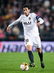 Valencia's Daniel Parejo in action
