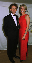 Former top jockey JOHNNIE FRANCOME and his close friend MRS TRACEY BAILEY at a ball in London on 24th September 1997.MBM 13