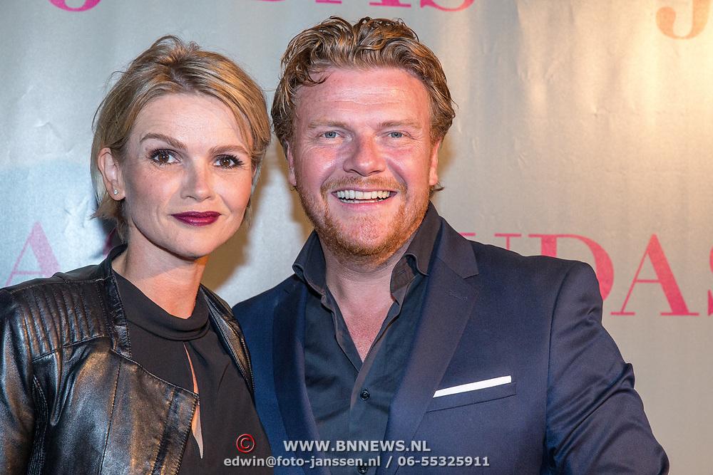 NLD/Amsterdam/20180920 - Premiere Judas, Bastiaan Ragas en partner Tooske Ragas