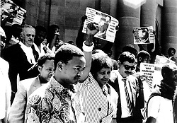 File photo: 21/02/1991 Winnie Madikizela-Mandela - change date as on back of pic<br /> Picture: Alf Kumalo/African News Agency(ANA) Archives