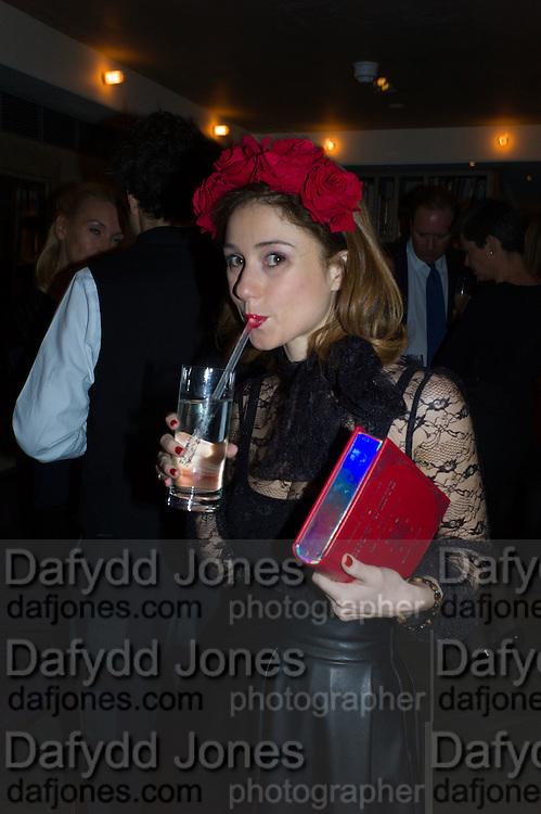 MARIA MARIGLIAMO CARACCIOLO, Spectator Life - 3rd birthday party. Belgraves Hotel, 20 Chesham Place, London, SW1X 8HQ, 31 March 2015