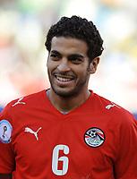 Fotball<br /> Egypt v Brasil<br /> Foto: DPPI/Digitalsport<br /> NORWAY ONLY<br /> <br /> FOOTBALL - CONFEDERATIONS NATIONS CUP 2009 - GROUP B - 1ST ROUND - BRAZIL v EGYPT - 15/06/2009<br /> <br /> HANI SAID (EGY)