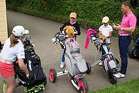 EEMNES -  golfclinic voor meisjes op GC de Goyer. COPYRIGHT KOEN SUYK