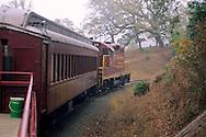 The Skunk Train, Willits, Mendocino County, California