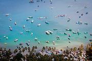 Sea scape of Namdu island, Vietnam