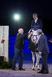 Will David (GER) - Colorit <br /> Winner of the Rolex FEI World Cup presented by Swiss Sense<br /> CSI-W 'sHertogenbosch 2013<br /> © Dirk Caremans