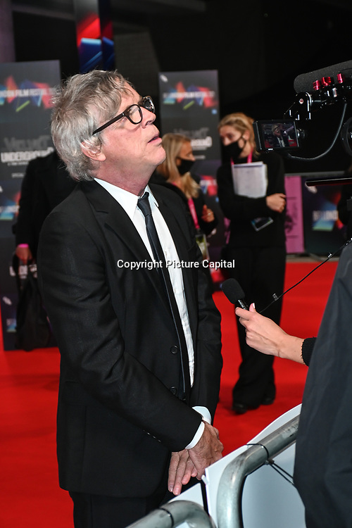 Todd Haynes arrives at The Velvet Underground - UK Film Premieres 2021 at Southbank Centre, Royal Festival Hall, London, 8 October 2021.