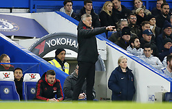 February 18, 2019 - London, United Kingdom - Manchester United manager Ole Gunnar Solskjaer .during FA Cup Fifth Round between Chelsea and Manchester United at Stanford Bridge stadium , London, England on 18 Feb 2019. (Credit Image: © Action Foto Sport/NurPhoto via ZUMA Press)