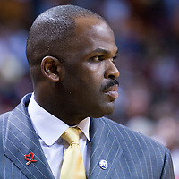 08 March 2011: Trail Blazers head coach Nate McMillan is seen during the Portland Trail Blazers 105-96 victory over the Miami Heat at the AmericanAirlines Arena, Miami, Florida, USA.