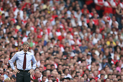 FILE PHOTO: Arsene Wenger is to leave Arsenal at the end of the season, ending a near 22-year reign as manager<br /><br />Arsene Wenger, Arsenal manager ... Soccer - FA Barclays Premiership - Arsenal v Fulham - Emirates Stadium ... 29-04-2007 ... london ... United Kingdom ... Photo credit should read: Mike Egerton/EMPICS Sport. Unique Reference No. 4609267 ... NULL