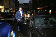 AMIR BOUSSEAU, De Grisogono & Londino Car Rally  party. <br />Pal Zileri, Hans Crescent London, W1, 22 August. Launch of car rally which takes drivers through London, France, Switzerland and finally to Portofino .  -DO NOT ARCHIVE-© Copyright Photograph by Dafydd Jones. 248 Clapham Rd. London SW9 0PZ. Tel 0207 820 0771. www.dafjones.com.