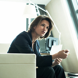 PARIS LA DEFENSE, FRANCE. OCTOBER 5, 2011. GDF SUEZ's CEO Isabelle Kocher in her office. Photo: Antoine Doyen