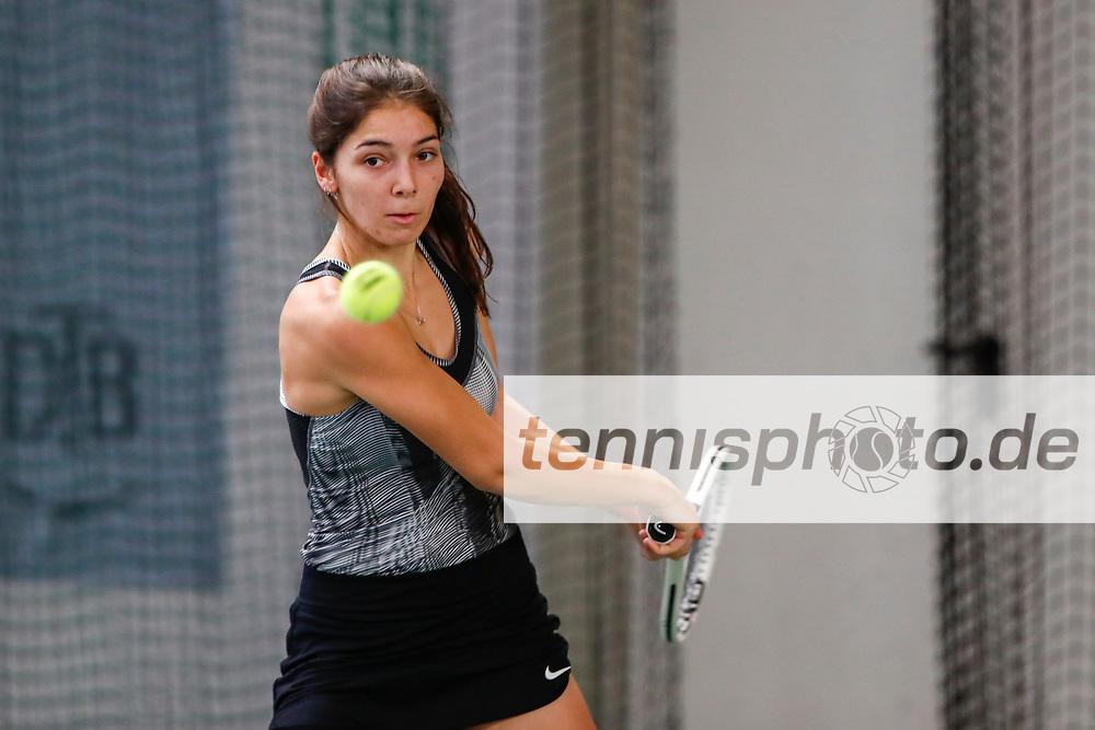 Selina Dal, Deutsche Meisterschaften der Damen und Herren 2020 - Deutscher Tennis Bund e.V. am 7.12.2020 in Biberach (Bezirksstützpunk Biberach (WTB)), Deutschland, Foto: Mathias Schulz