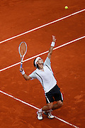 Roland Garros. Paris, France. May 31st 2008..David FERRER against Lleyton HEWITT. .3rd Round...