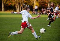 Girls varsity soccer Pittsfield versus Derryfield October 11, 2011.