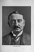 Cecil John Rhodes PC (5 July 1853 – 26 March 1902) was a British mining magnate and politician in southern Africa who served as Prime Minister of the Cape Colony from 1890 to 1896. from the book ' Boer and Britisher in South Africa; a history of the Boer-British war and the wars for United South Africa, together with biographies of the great men who made the history of South Africa ' By Neville, John Ormond Published by Thompson & Thomas, Chicago, USA in 1900