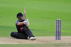 Roloef Van Der Merwe in action  - Mandatory by-line: Alex Davidson/JMP - 02/08/2016 - CRICKET - The Ageas Bowl - Southampton, United Kingdom - Hampshire v Somerset - Royal London One Day