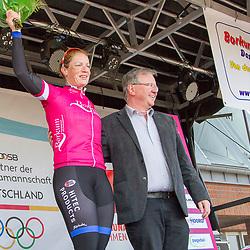 BORKUM (GER) wielrennen De slotetappe van de Energiewachttour 2016 werd verreden op het Duitse Waddeneiland Borkum.
