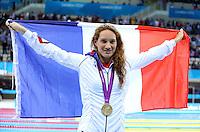 Victoire Camille Muffat - 400m NL - 29.07.2012 - Aquatics Centre - Jeux Olympiques Londres 2012<br /> Photo: Swpix / Icon Sport