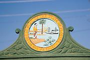 State Seal, St. Augustine, Florida, USA<br />