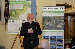 Pictured: Sir Tom Hunter<br /> Finance Secretary Derek Mackay headed to Winchburgh today to meet developers of new 3,450-home village. As well as the new homes, schools and other associated infrastructure will be built at Winchburgh. Derek Mackay met Sir Tom Hunter and Local MSP, Fiona Hyslop, the developers and West Lothian Council officials.<br /> Ger Harley   EEm 17 January 2019