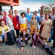 NLD/Rotterdam/20180423 - Perspresentatie Musicals aan de Maas, groepsfoto
