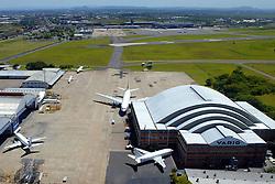 Hangar da Varig no aeroporto internacional Salgado Filho em Porto Alegre. Segundo o  presidente do BNDES, Demian Fiocca ainda não apareceu, oficialmente, nenhum investidor interessado em comprar a Varig com o empréstimo-ponte do BNDES.   <br /> FOTO: Jefferson Bernardes/Preview.com