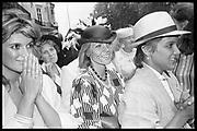 Marriage, Kewy Chippindall-Higgin to Rohan Massa- Taylor. Park Lane Hotel, 05.06.84© Copyright Photograph by Dafydd Jones 66 Stockwell Park Rd. London SW9 0DA Tel 020 7733 0108 www.dafjones.com