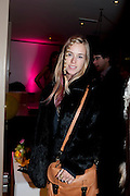 MARY CHARTERIS, InStyle's Best Of British Talent Party in association with Lancome. Shoreditch HouseLondon. 25 January 2011, -DO NOT ARCHIVE-© Copyright Photograph by Dafydd Jones. 248 Clapham Rd. London SW9 0PZ. Tel 0207 820 0771. www.dafjones.com.