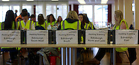 A general view of the postal votes processing<br /> Potocall as postal votes processed. Edinburgh council workers begin to verify the first votes submitted by post at Royal Highland Centre, Ingliston<br /> Pako Mera/Universal News And Sport (Europe) 12/09/2014