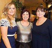 Laura Kelly, Menlo, Anne Mitchell, Castlebar, Kathleen Naughton Salthill at the Gorta Self Help Africa Annual Ball at the Galway Bay Hotel, Salthill Galway.<br /> Photo:Andrew Downes, xposure.