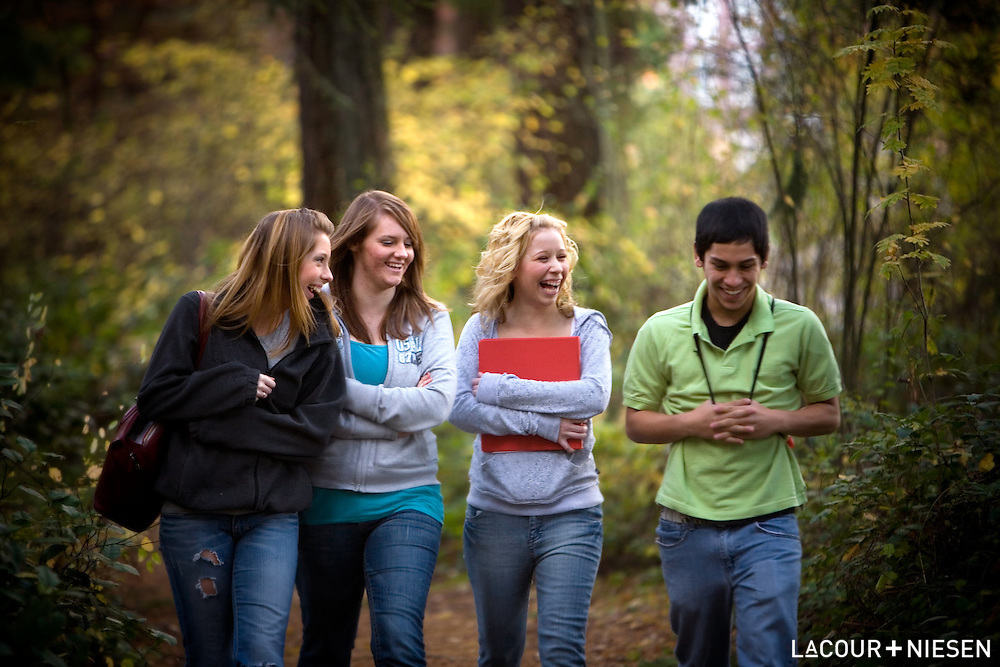 Viewbook photography for St. Martin's University, Lacey, Wash.