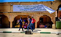 Street scene in Taliouine, a little mountain village in the south of Morocco<br /> <br /> (c) Andrew Wilson   Edinburgh Elite media