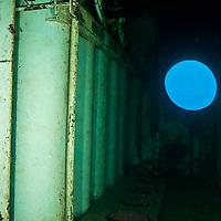 USS Kittiwake air storage racks, artificial reef, Grand Cayman