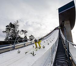 03.01.2013, Bergisel Schanze, Innsbruck, AUT, FIS Ski Sprung Weltcup, 61. Vierschanzentournee, Training, im Bild Gregor Deschwanden (SUI) // Gregor Deschwanden of Switzerland during practice Jump of 61th Four Hills Tournament of FIS Ski Jumping World Cup at the Bergisel Schanze, Innsbruck, Austria on 2013/01/03. EXPA Pictures © 2012, PhotoCredit: EXPA/ Juergen Feichter
