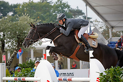 Bille Brecht - Hunter's Scendix<br /> World Championship Young Horses Lanaken 2008<br /> Photo Copyright Hippo Foto