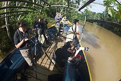On Tiputini River Photographing Wildlife