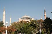 Turkey, Istanbul, Exterior of the Hagia Sophia Museum
