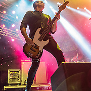 BALTIMORE United States - September 19, 2015: Robert DeLeo of Stone Temple Pilots, performs at The Shindig, in Baltimore's historic Carroll Park