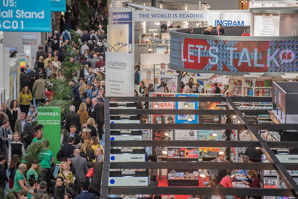 The London Book Fair, celebrating its 45 year anniversary, is the global marketplace for rights negotiation and the sale and distribution of content across print, audio, TV, film and digital channels. Staged annually, LBF sees more than 25,000 publishing professionals arrive in London for the week of the show to learn, network and kick off their year of business. The London Book Fair sits at the heart of London Book & Screen Week, and runs from the 12-14 April 2016.