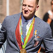 NLD/Den Haag/20160824 - Huldiging sporters Rio 2016, zwemmer Ferry Weertman