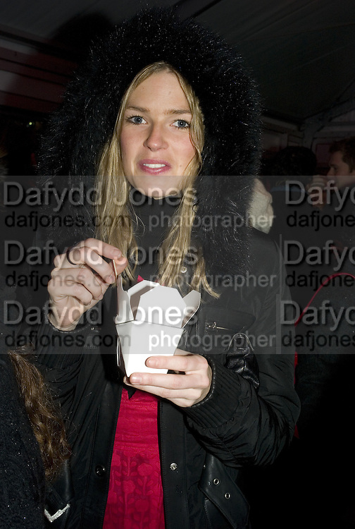 Isabella Anstruther-Gough-Calthorpe , Winter party hosted by the Somerset House Trust and Tiffany's. To celebrate the opening of the Ice Rink at Somerset House. 20 November 2007. -DO NOT ARCHIVE-© Copyright Photograph by Dafydd Jones. 248 Clapham Rd. London SW9 0PZ. Tel 0207 820 0771. www.dafjones.com.