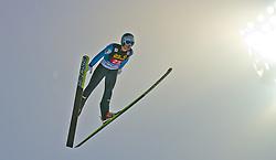 29.12.2010, Schattenbergschanze, Oberstdorf, GER, Vierschanzentournee, Oberstdorf, 1. Wertungsdurchgang, im Bild Michael Hayboeck, AUT, during the 59th Four Hills Tournament First Jump in Oberstdorf, EXPA Pictures © 2010, PhotoCredit: EXPA/ P. Rinderer